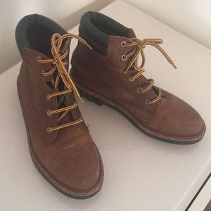 Great Made In Brazil Esprit Brown Leather Boots